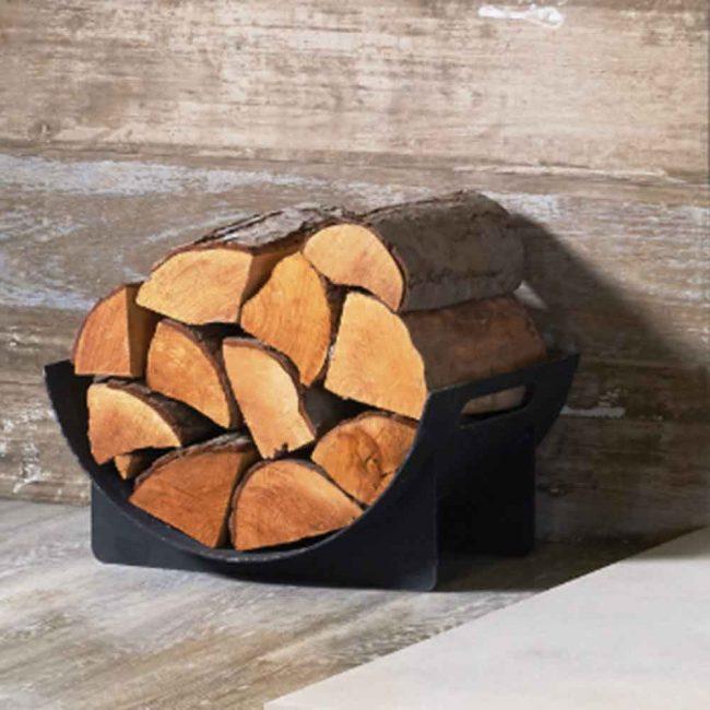 Scuttles log holders from Raven Stoves