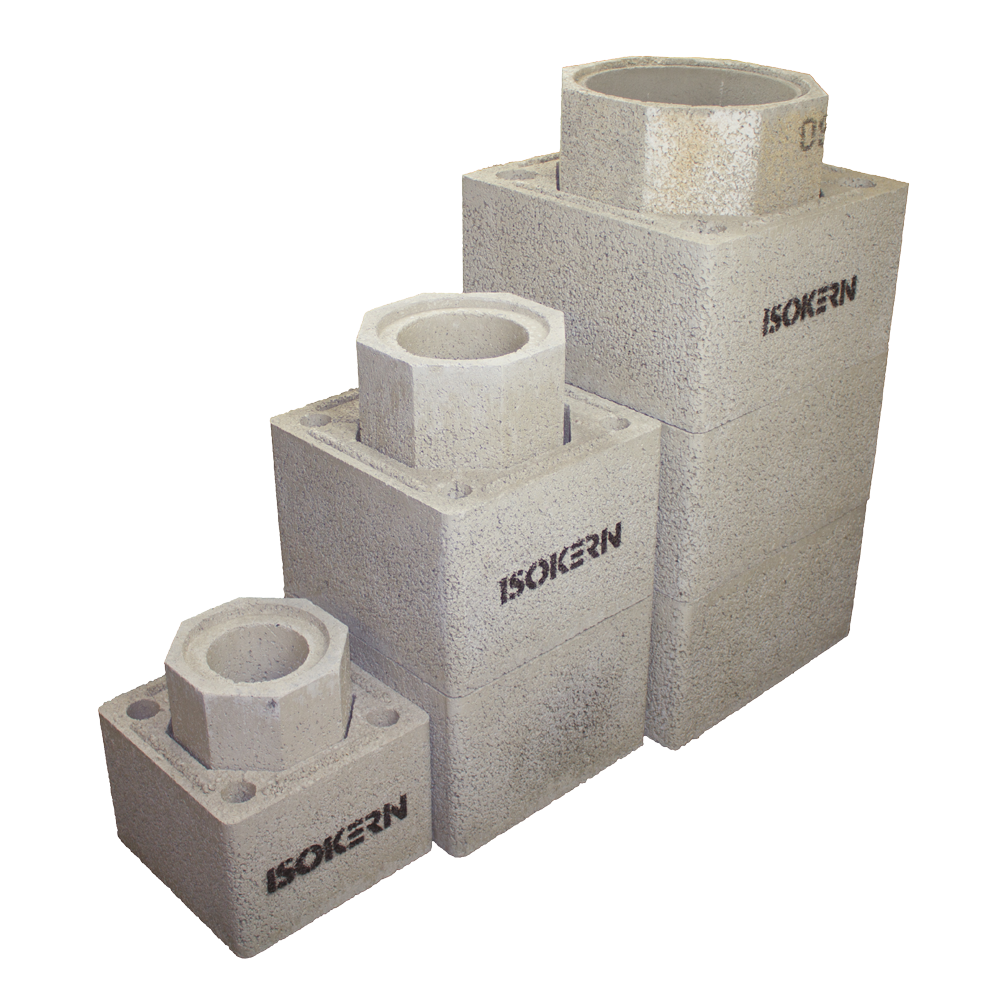 Schiedel isokern Blocks available from our Norfolk showroom direct to site